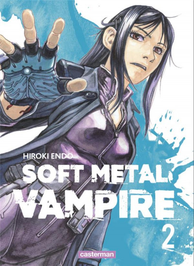 Couverture Soft metal vampire tome 2
