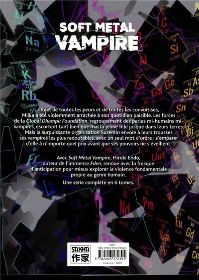 Dos Soft metal vampire tome 2