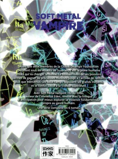 Dos Soft metal vampire tome 3