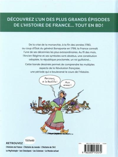 Dos L'Histoire de la France en BD - La Révolution française