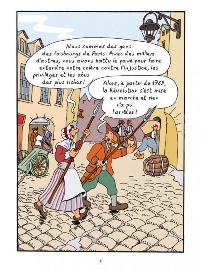 Page 1 L'Histoire de la France en BD - La Révolution française