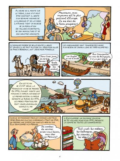 Page 4 L'Histoire de la France en BD - La Révolution française