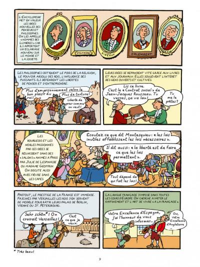 Page 5 L'Histoire de la France en BD - La Révolution française