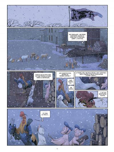 Page 8 Le château des animaux tome 2