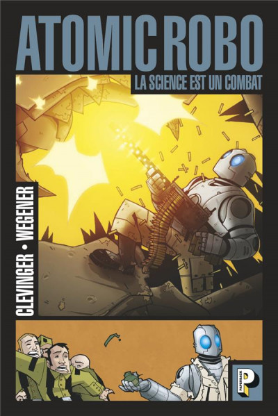 Couverture Atomic robo tome 1