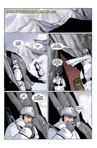 Page 1 Atomic robo tome 1