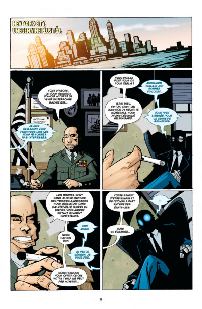 Page 2 Atomic robo tome 1