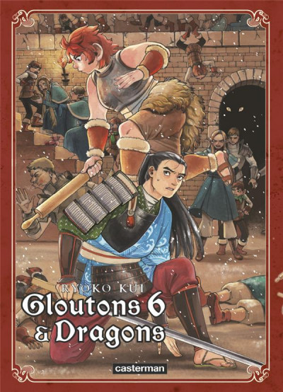 Couverture Gloutons et dragons tome 6