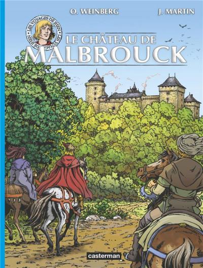 Couverture les voyages de Jhen ; le château de Malbrouck
