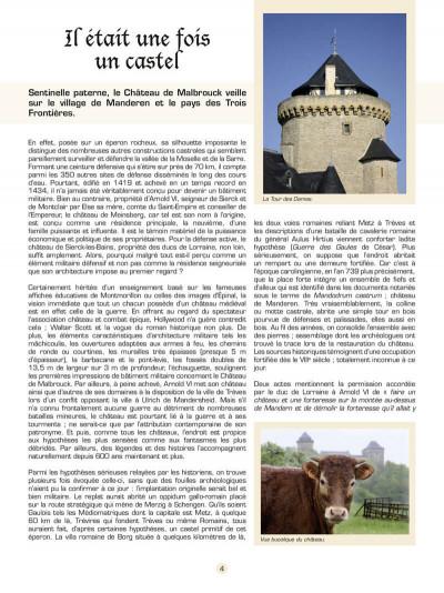 Page 5 les voyages de Jhen ; le château de Malbrouck