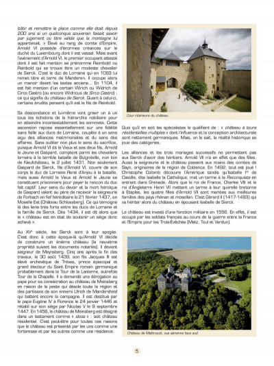 Page 6 les voyages de Jhen ; le château de Malbrouck
