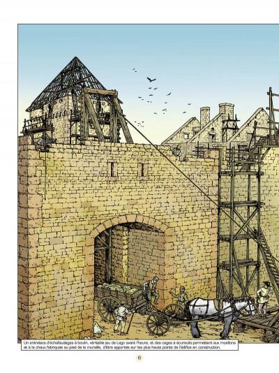 Page 7 les voyages de Jhen ; le château de Malbrouck