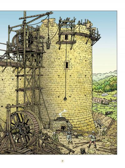 Page 8 les voyages de Jhen ; le château de Malbrouck