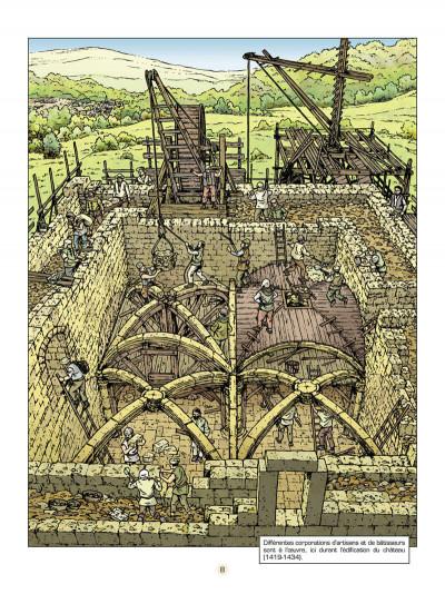 Page 9 les voyages de Jhen ; le château de Malbrouck