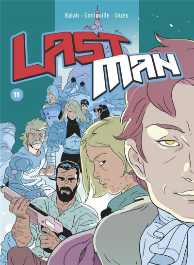 Couverture Lastman tome 11 - Collector