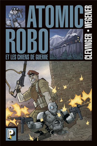Couverture Atomic robo tome 2