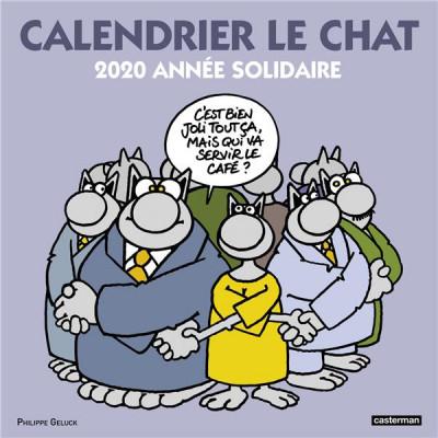 Couverture Le chat - calendrier 2020