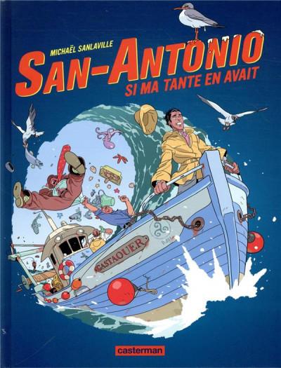 Couverture San-Antonio tome 2