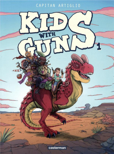 Couverture Kids with guns tome 1