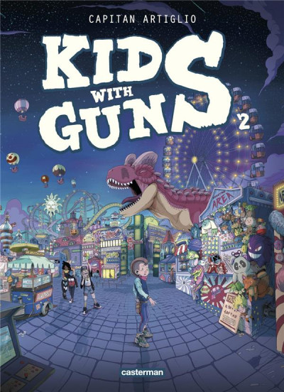 Couverture Kids with guns tome 2
