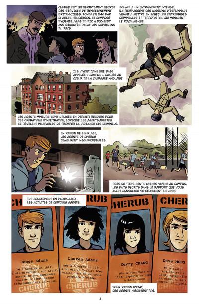 Page 4 Chérub tome 4