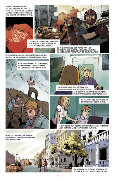Page 5 Chérub tome 4