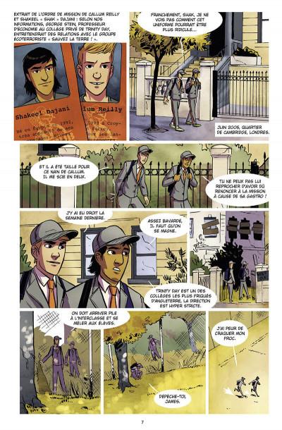 Page 8 Chérub tome 4