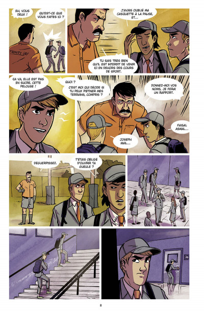 Page 9 Chérub tome 4