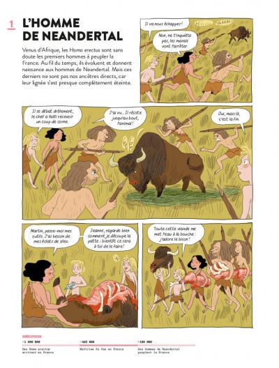 Page 1 Ma première histoire de france en BD