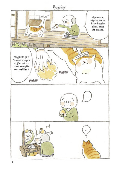 Page 7 Le vieil homme et son chat tome 4