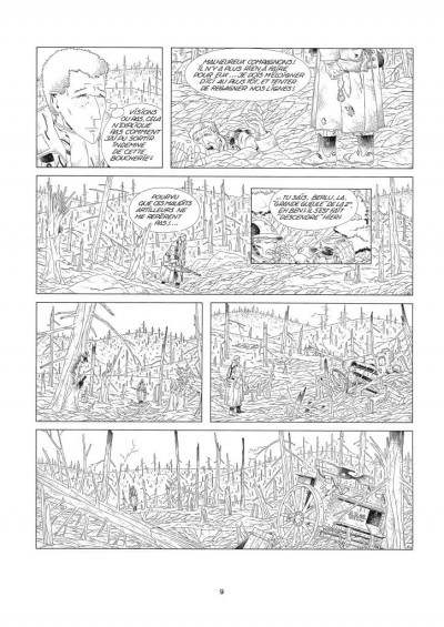 Page 4 Comès, les romans noir et blanc - 1976-1984