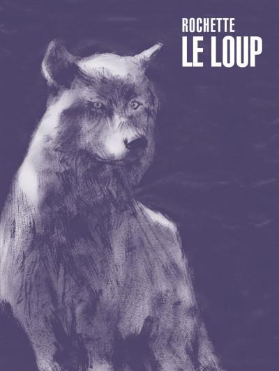 Couverture Le loup - édition luxe