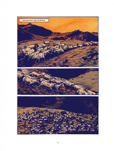 Page 1 Le loup - édition luxe