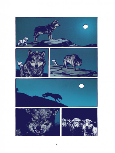Page 2 Le loup - édition luxe