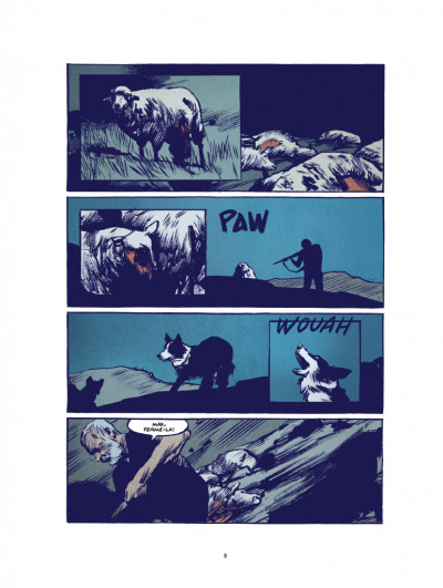Page 5 Le loup - édition luxe