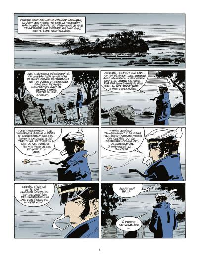 Page 4 Corto Maltese tome 15