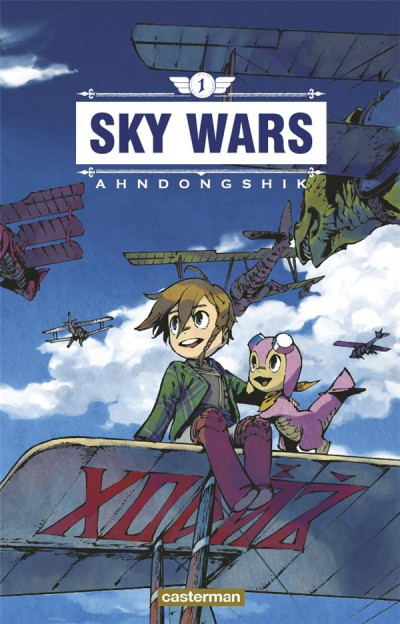 Couverture Sky wars tome 1
