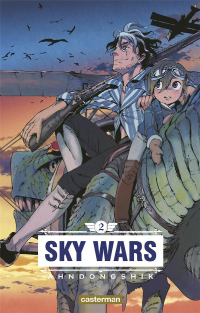 Couverture Sky wars tome 2