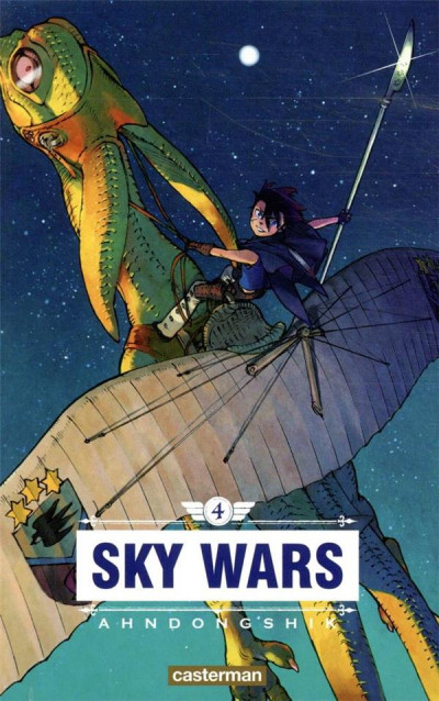Couverture Sky wars tome 4