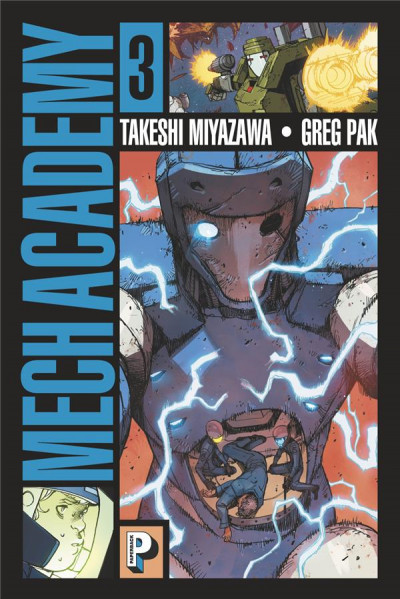 Couverture Mech academy tome 3
