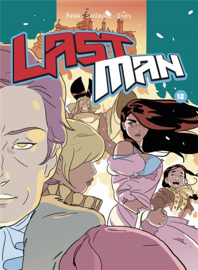 Couverture Lastman tome 12 - collector