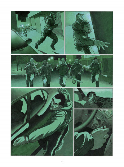 Page 5 Le tueur - affaires d'état tome 1