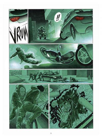Page 6 Le tueur - affaires d'état tome 1