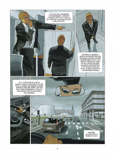 Page 9 Le tueur - affaires d'état tome 1