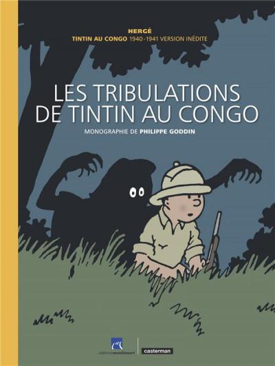 Couverture Les tribulations de Tintin au Congo