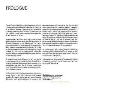 Page 2 Les tribulations de Tintin au Congo