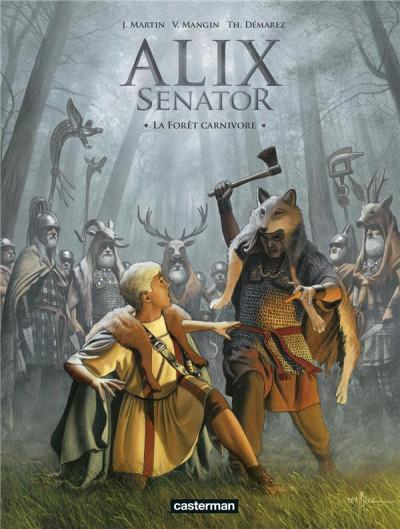 Couverture Alix Senator tome 10
