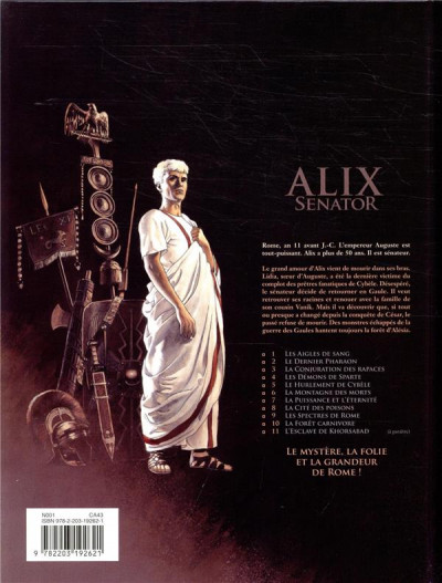 Dos Alix Senator tome 10