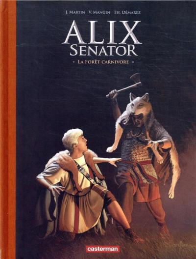Couverture Alix Senator - édition deluxe tome 10