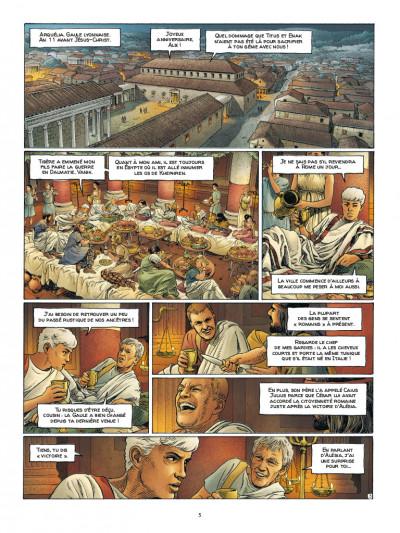 Page 3 Alix Senator - édition deluxe tome 10